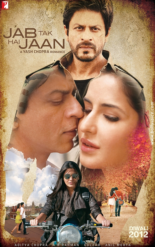 12sep FirstLook YRF JabTakHaiJaan Yash Chopra directs Shahrukh, Katrina and Anushka in Jab Tak Hain Jaan *Updated