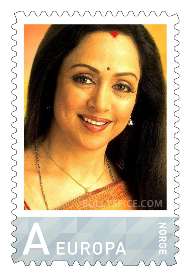 12sep Hema Norway Stamp05 Hema Malini gets a surprise at the Bollywood Festival Norway