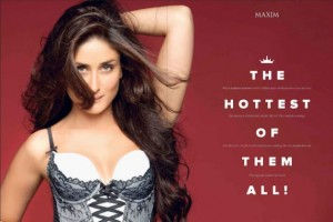 Kareena sizzles on top