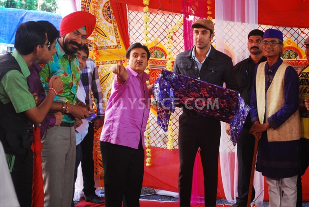 12sep RK barfi ultachasma02 Barfi! on the sets of Tarak Mehta ka Ulta Chasma