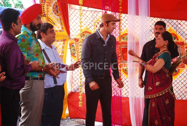 12sep RK barfi ultachasma04 Barfi! on the sets of Tarak Mehta ka Ulta Chasma