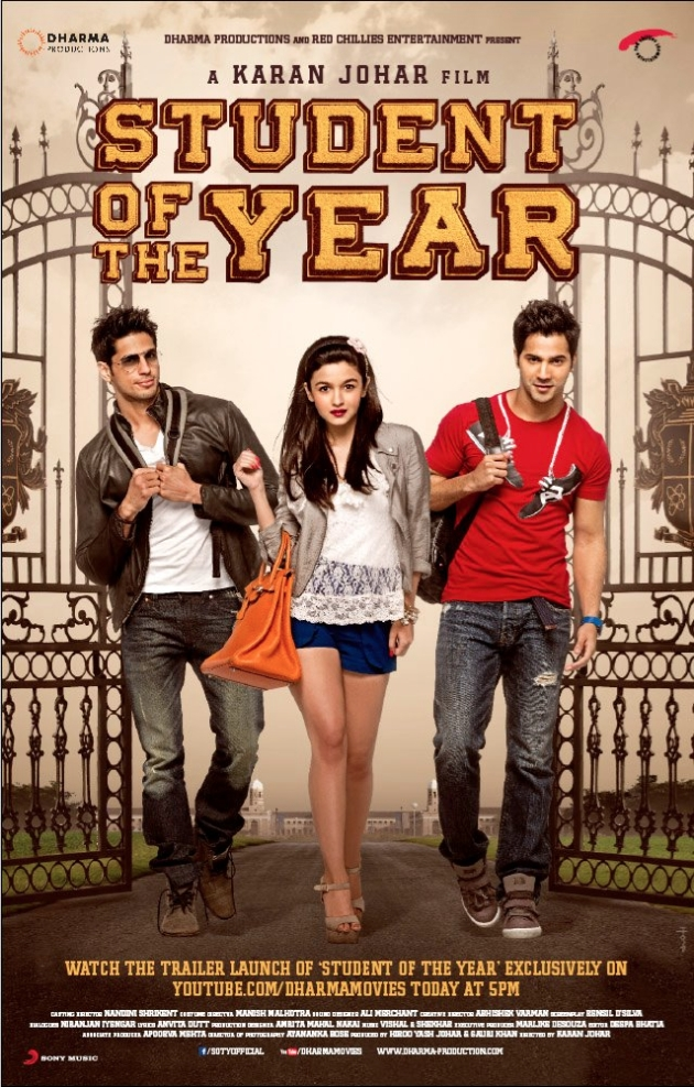 12sep SOTY musicreview Student of the Year Music Review