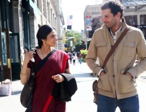 12sep Sridevi MehdiNebbou 300x230 Sridevi & Mehdi Nebbou bonded well whilst filming English Vinglish