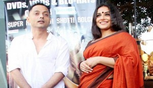 Sujoy Vidya together for Kahaani 2