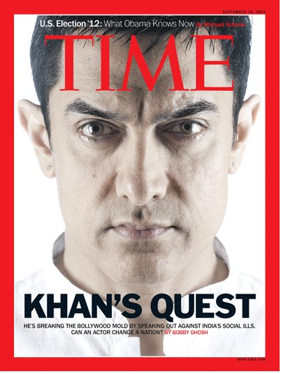 Aamir Khan creates history as the second male Bollywood actor on Time Magazine cover