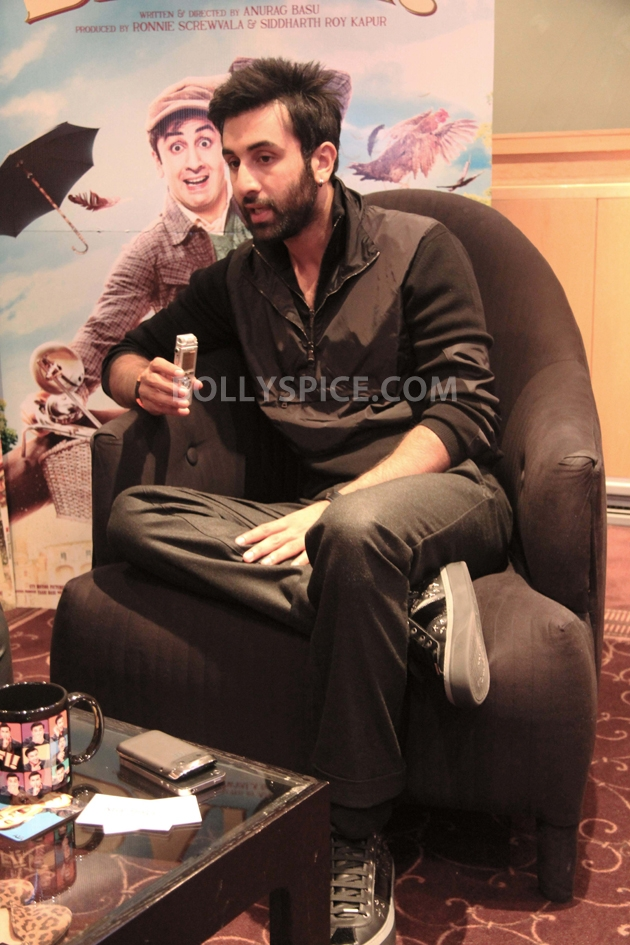 12sep ranbir intrvwBarfi01 Ranbir Kapoor talks all things Barfi!