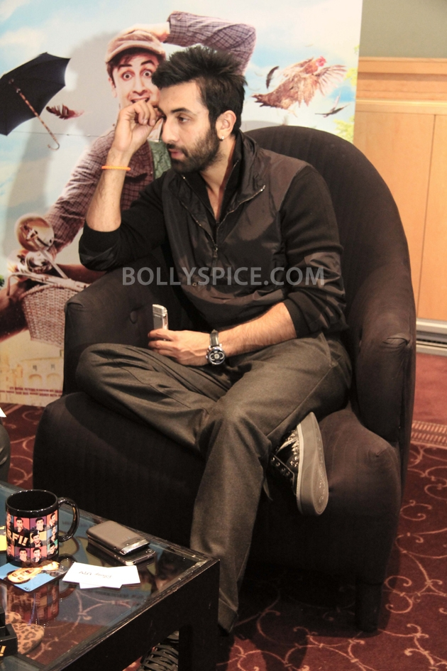 12sep ranbir intrvwBarfi02 Ranbir Kapoor talks all things Barfi!