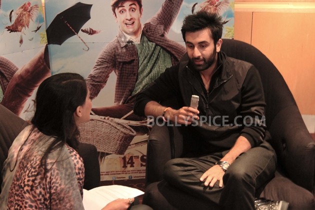 12sep ranbir intrvwBarfi04 Ranbir Kapoor talks all things Barfi!