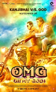OMG poster 184x300 OMG   Oh My God! impresses Critics and Audiences alike