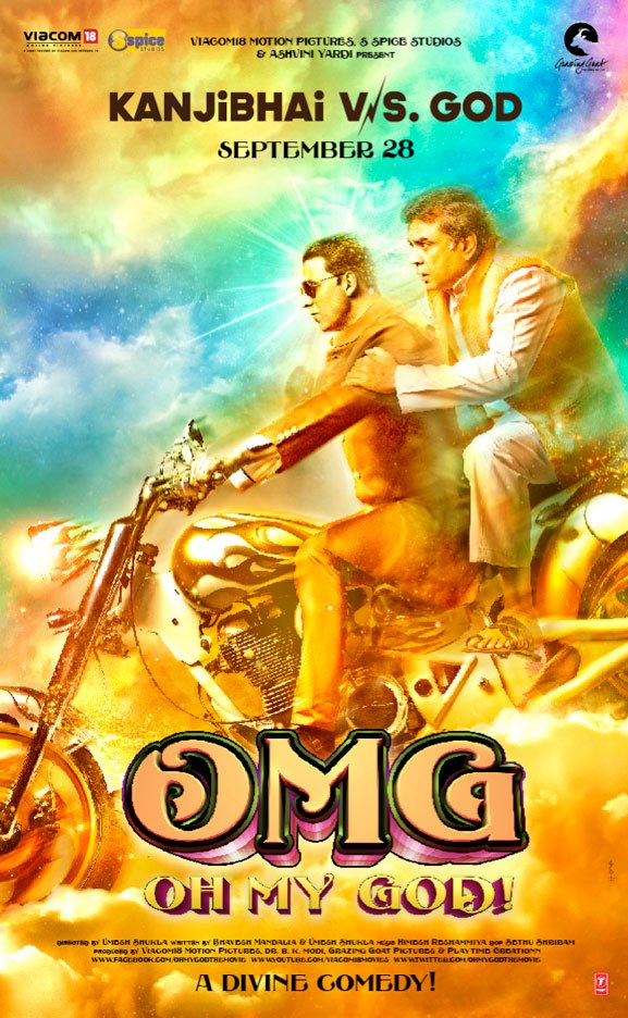 OMG poster OMG Oh My God Movie Review