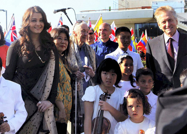 Aishwarya Rai Bachchan at the UN International Peace Day in New York Exclusive!