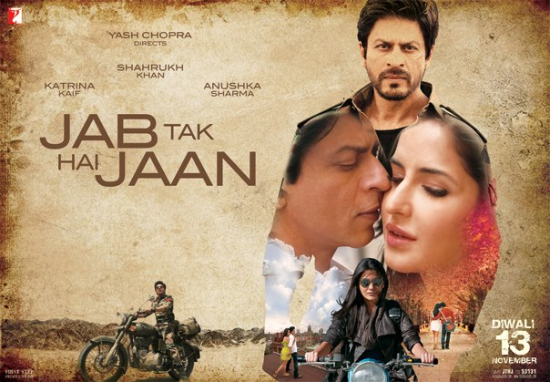 jthjwide  2.5 million views in 4 days for first trailer of Jab Tak Hai Jaan