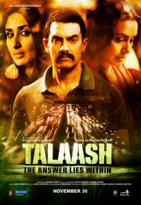 talaashposter 206x300 Talaash's first song release is unique!