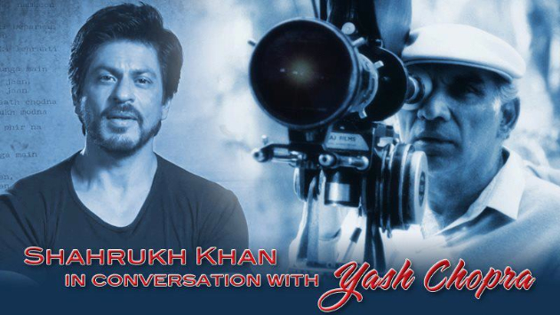 yashchoprasrk See Shah Rukh Khan In Conversation with Yash Chopra tomorrow!