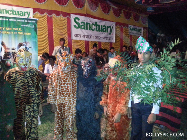10oct delhisafari 03 Delhi Safari's special screening at the Ranthambore National Park for 1000 school kids