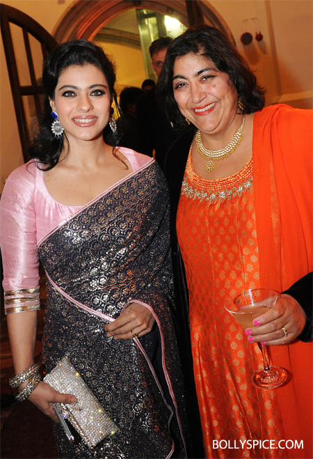 10oct pratham 05 Kajol attends the Pratham Charity Event