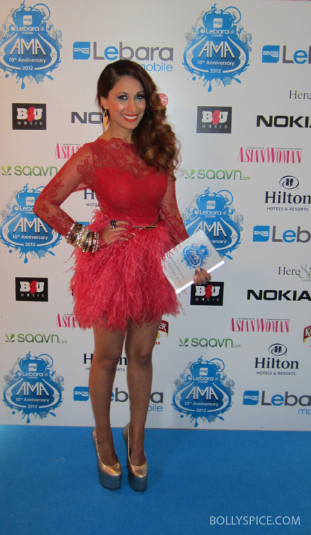 10oct preeya 01 Preeya Kalidas wins Best Female Artist at the Lebara Mobile Asian Music Awards 2012!