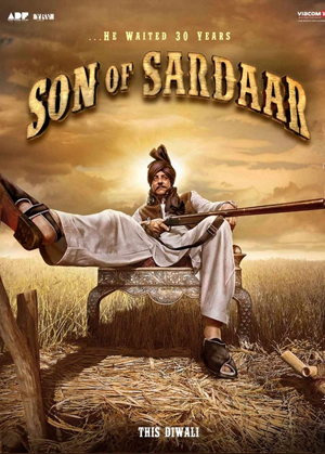 10oct sonofsardarmusic 02 Son of Sardaar Music Review