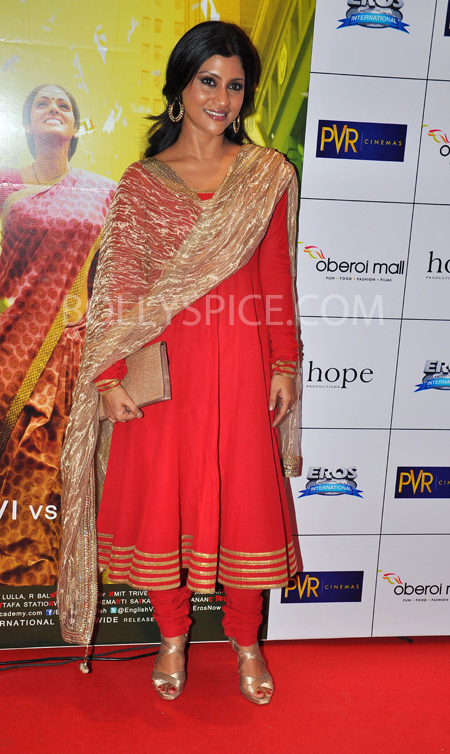 10oct whwnev konkona Who's Hot Who's Not – English Vinglish Premiere