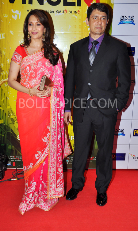 10oct whwnev madhuri Who's Hot Who's Not – English Vinglish Premiere