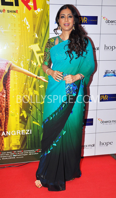 10oct whwnev tabu Who's Hot Who's Not – English Vinglish Premiere