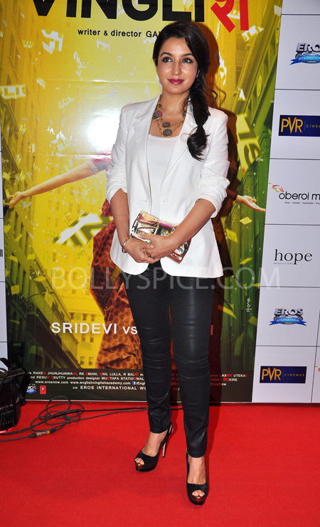 10oct whwnev tisca Who's Hot Who's Not – English Vinglish Premiere