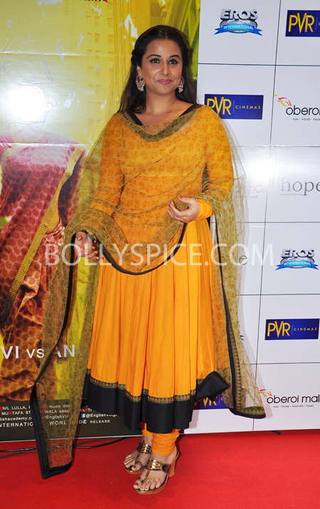 10oct whwnev vidya Who's Hot Who's Not – English Vinglish Premiere