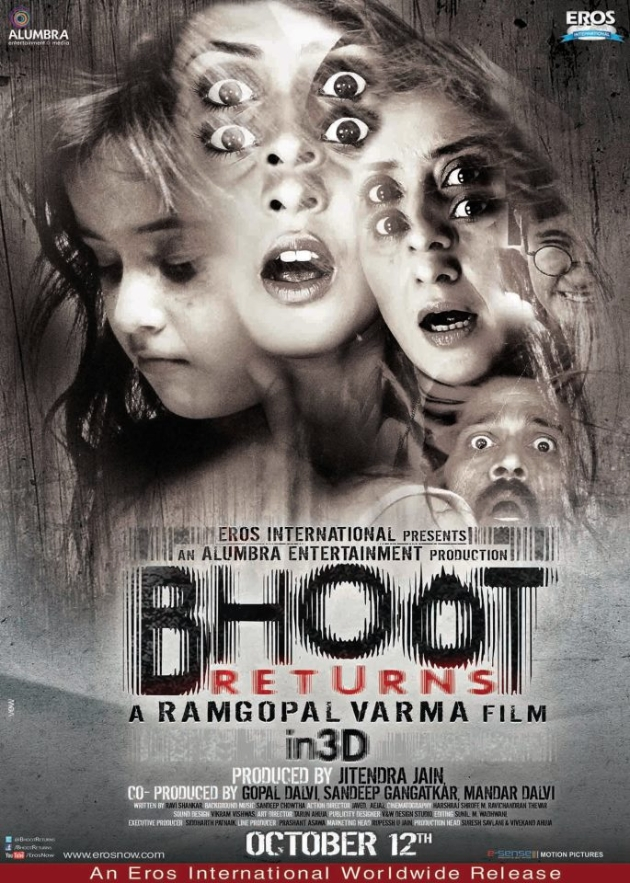 12oct BhootReturns poster02 Bhoot Returns in the Digital Arena