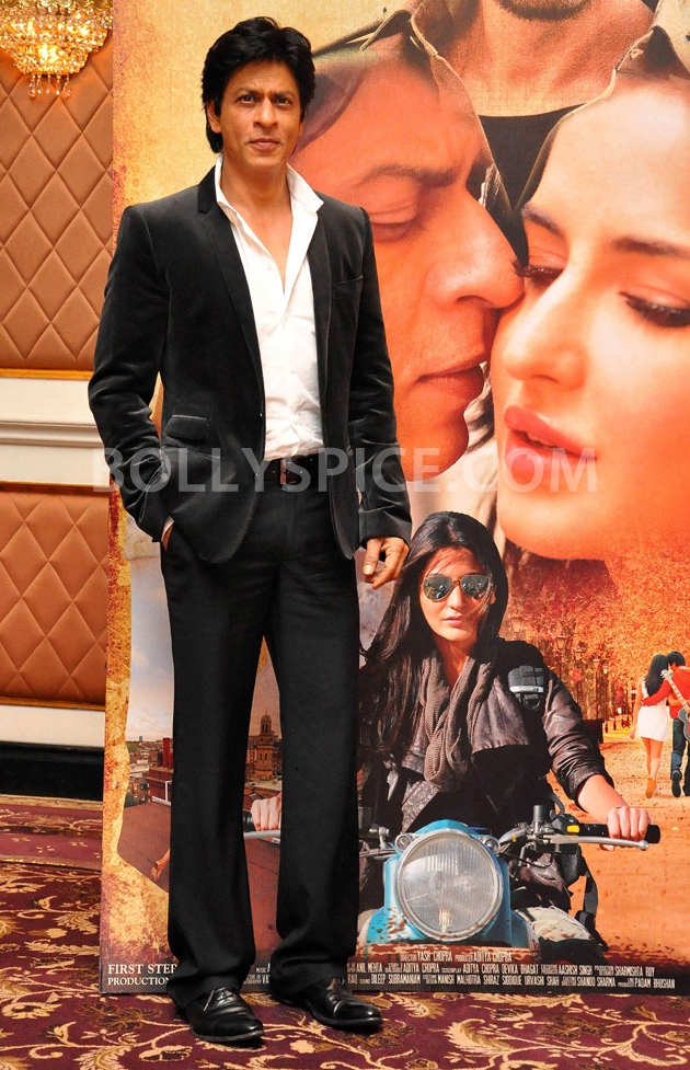 12oct JTHJ SaansSongLaunch01 IN PHOTOS: Jab Tak Hai Jaan Saans song launch event