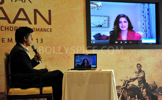 12oct JTHJ SaansSongLaunch21 IN PHOTOS: Jab Tak Hai Jaan Saans song launch event