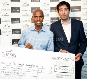 12oct Kaser Mehmood Mo Farah Foundation 300x271 British Asian Entrepreneur helps Olympic Champion