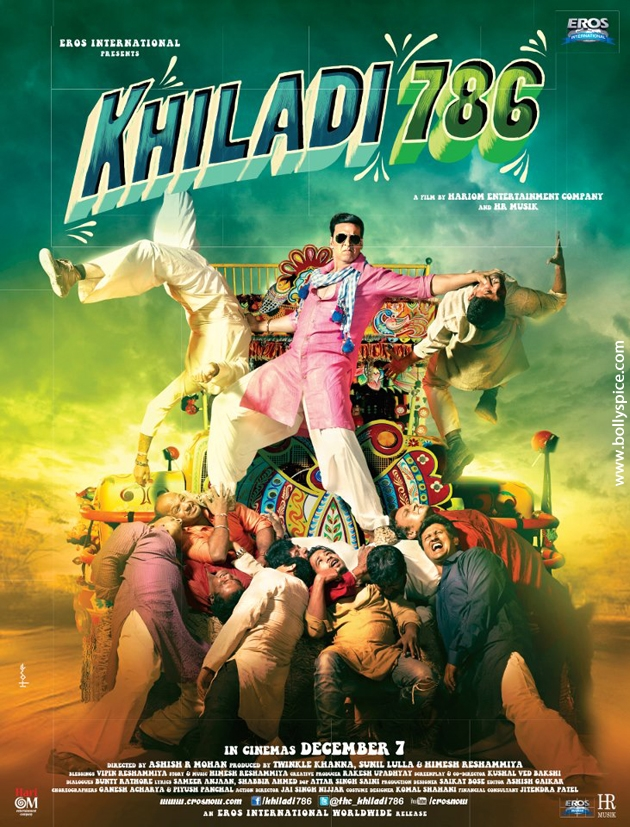 12oct Khiladi786 poster01 Khiladi 786 crosses 1 million views on Youtube in just 3 days!