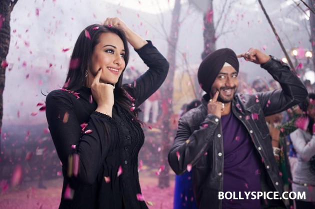 12oct SOS Sonakshi01 Sonakshi turns Marketing Guru with Son Of Sardaar