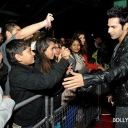 12oct SOTYteamLondon04 185x185 Student of the Year Cast and KJo Thrill Fans at Cineworld Feltham in London