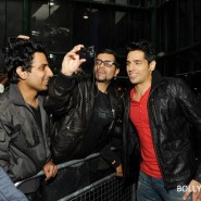 12oct SOTYteamLondon11 185x185 Student of the Year Cast and KJo Thrill Fans at Cineworld Feltham in London