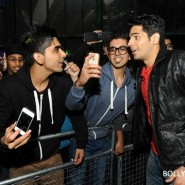12oct SOTYteamLondon12 185x185 Student of the Year Cast and KJo Thrill Fans at Cineworld Feltham in London