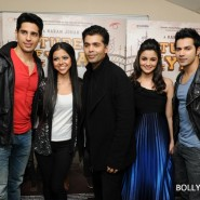 12oct SOTYteamLondon37 185x185 Student of the Year Cast and KJo Thrill Fans at Cineworld Feltham in London