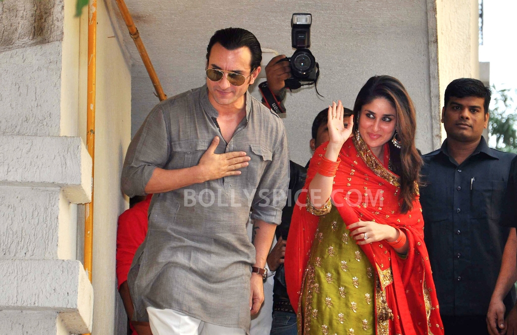 12oct SaifKareenaCourtWedding01 In Photos: Saif and Kareena Wedding: The Registered Marriage