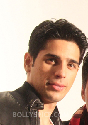 12oct Sidharth SRKfan I am a big SRK fan because of Karan Johar films   Sidharth Malhotra