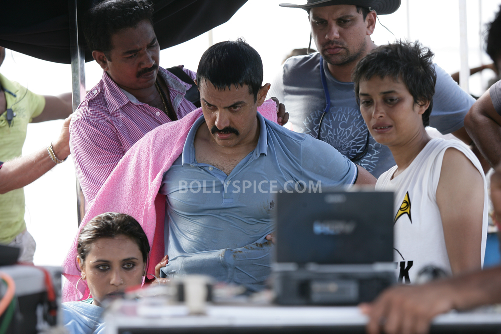 12oct Talaash Underwater London Talaash underwater scene shot in London