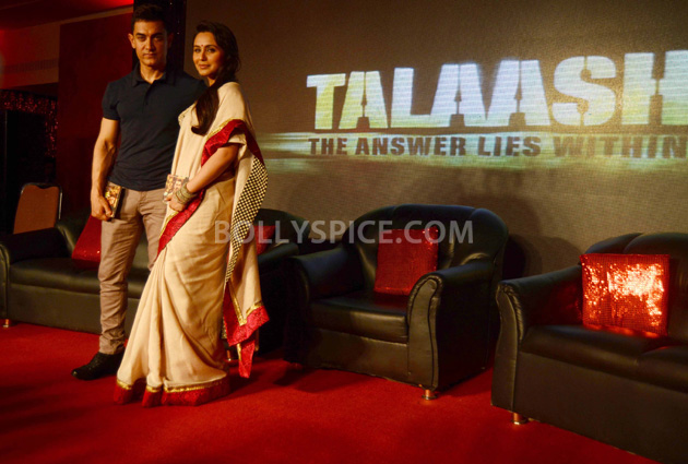 "12oct TalaashMusicRelease04 Aamir Khan: ""My experience of working with Reema was fantastic"""