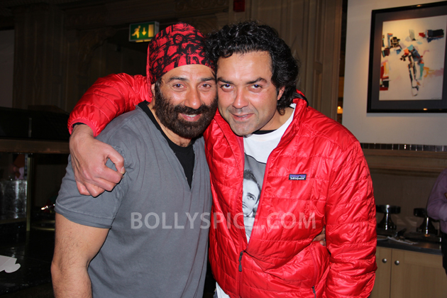 12oct YPD2 SunnyDeolBday01 Sunny Deols son Karan turns rapper for his dad on his 55th birthday in London