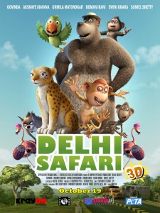 DS poster 225x300 Yuvi of Delhi Safari named Borivalis Sanjay Gandhi National Park Mascot!