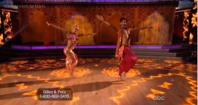 Gilles and Peta Dancing with the Stars Dancing with the Stars goes Bollywood
