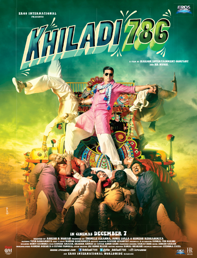 Poster 02 Khiladi is back...check out the teaser for Khiladi 786!