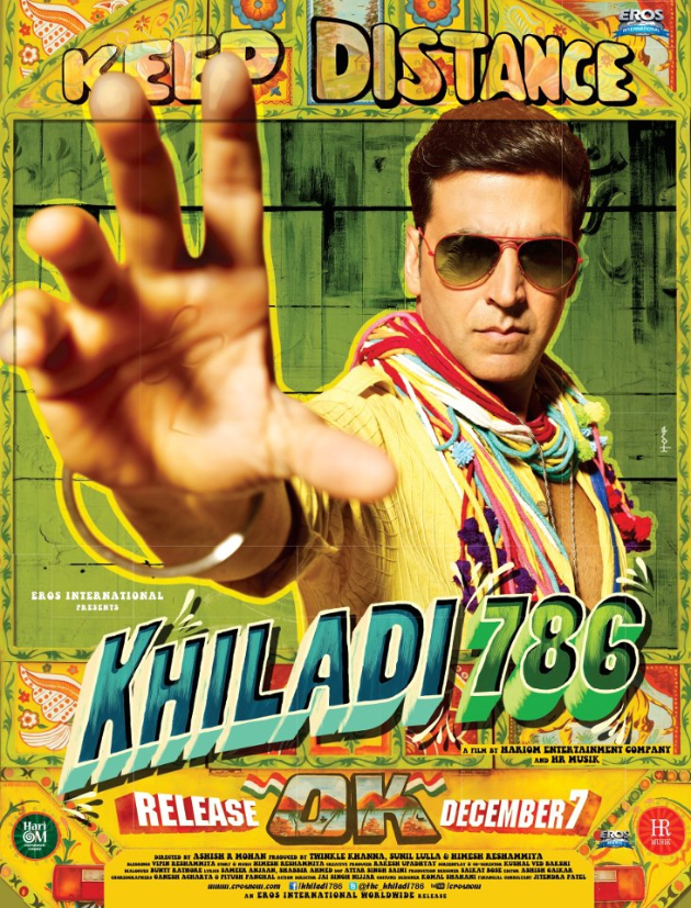 khiladi786poster1 Khiladi is back...check out the teaser for Khiladi 786!
