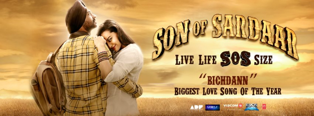 sosbichdan Check out the love song Bichdann   Son of Sardaar!