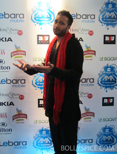 11nov ashking 01 Ash King talks to Bollyspice at the Lebara Mobile UK Asian Music Awards.