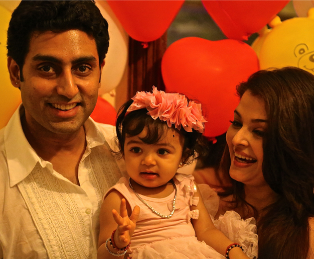 11nov betib 01 Aaradhya Bachchan turns one!