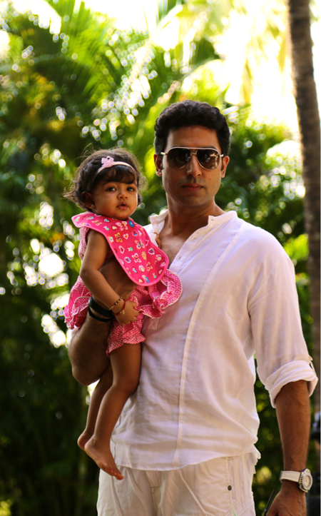 11nov betib 02 Aaradhya Bachchan turns one!